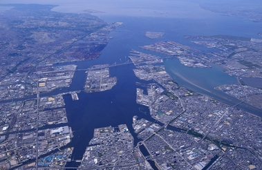 Photo: Overview of The Port of Nagoya